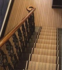 Teppichläufer Treppe raumausstattung bodenbeläge
